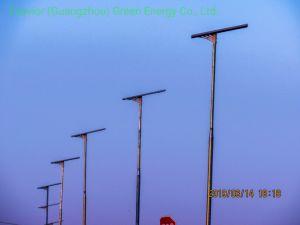 60W Esavior tutto in un indicatore luminoso di via solare esterno solare Integrated della lampada di via del LED con il sensore di movimento