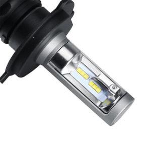 S1 H4 6500k 50W ampoules de phare de voiture LED sans ventilateur Styling 8000lm lampe de brouillard à LED pour Audi BMW Toyota Nissan Honda