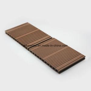 WPC de gran tamaño compuesto de revestimientos de suelos con muchos colores para exteriores