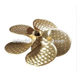 De paso fijo de la carga de bronce de la hélice de buques de pasaje