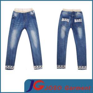 sombras de marca famosa selección especial de China Las niñas niños Puntillas Jeans (JC5116) – Comprar ...
