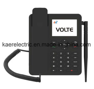 Androides Volte 4G WiFi Krisenherd-Schreibtisch-Telefon