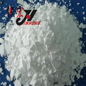 het Chloride van het Calcium van 74% - van 96% voor Smeltende Sneeuw, de Vlokken van het Chloride van het Calcium,