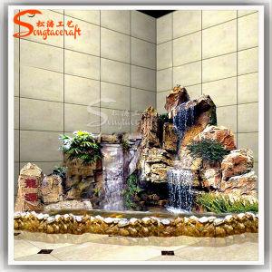 Design profissional de rochas ornamentais Fountains Rockery cachoeiras para jardim