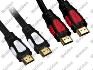 우수한 이중 색깔에 의하여 주조되는 V1.4 V2.0 HDMI 케이블