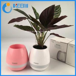Оптовая торговля водонепроницаемый Smart Touch реального роста растений воспроизведение музыки Bluetooth Flowerpot динамик