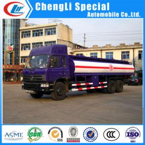 販売のためのDongfeng 6X4 18cbmのガソリンタンカー輸送の給油車