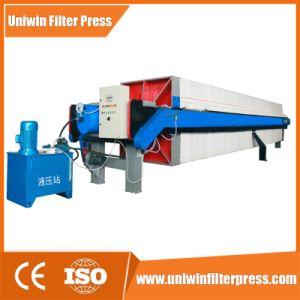Nuevo diseño de filtro automático de la industria de los Lodos Filtro Prensa Prensa