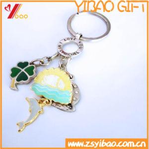 돌릴수 있는을%s 가진 관례 3D 디자인 금속 Keychain (YB-LY-K-24)