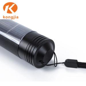 Алюминий аккумулятор солнечной энергии на свете факелов зарядного устройства в чрезвычайных ситуациях