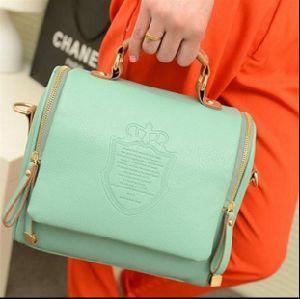 Retro PU-Frauen-Schulter-Beutel-Handtasche Crossbody Tote-Beutel