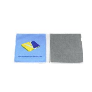 Comercio al por mayor calidad de impresión por transferencia caliente de paño de limpieza de microfibra