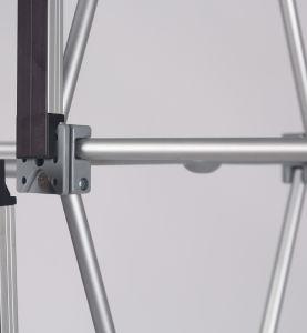 Le Velcro Pop up affiche d'exposition droites rapides