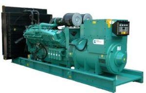 ISO 증명서 열려있는 유형 발전기를 가진 500kw 625kVA 비상사태