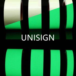 Photoluminescentフィルム、安全印、Guildingラインのための暗いテープの白熱
