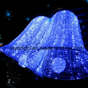 LED-Weihnachtsbell-Licht-Ausgangstür-Licht und Markt-Dekoration