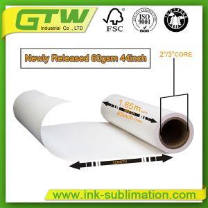 Легкий вес 60 передача тепла бумаги для печати с термической возгонкой