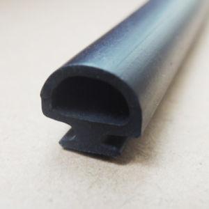 Forma de semicírculo personalizado Tira de sellado de PVC hueco para puertas y ventanas Al-Alloy