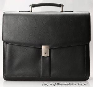 Fonctionnel de haute qualité PU les sacs de cuir pour les affaires du portefeuille de l'homme Mallette Sacs Messenger