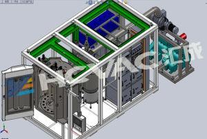 Macchina della metallizzazione sotto vuoto di PVD per monili e la vigilanza