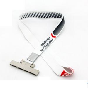 최신 판매 고품질 형식 선전용 광고 선물 목 이동할 수 있는 결박 리본 가죽 끈 방아끈
