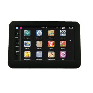 工場熱い販売4.3 アーム皮質A7、800MHz CPUを搭載する携帯用車GPSの航法システム、前荷のIgoのマップ; FMの送信機; ハンズフリーBluetooth; ISDB T TV