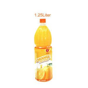 1,25 litre de jus d'Orange flottant naturel avec 10 % de jus et de 6 % de véritables pâtes