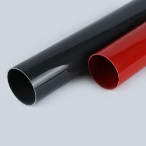 Tuyau en plastique de couleur de qualité supérieure Matte/tuyau lumineux tube PVC PVC
