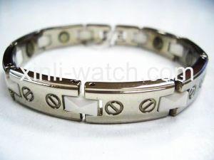 Stainless Steel & Ceramic Bracelet (H-682)