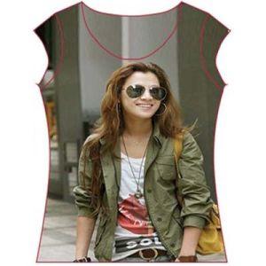 Heat transfer T-shirt (HTF-030701)
