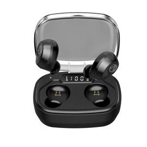 Ipx7 de alta calidad LED resistente al agua profunda de Tws auricular Bluetooth