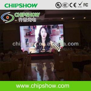 Chipshow P4 SMD LED couleur intérieure de l'affichage numérique