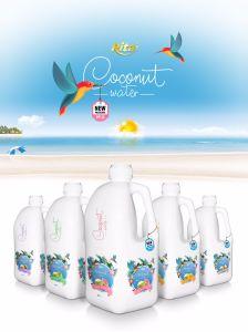 Agua de Coco puro en Niza 2L Botella PP