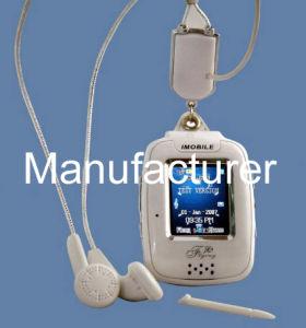 三バンドタッチ画面の腕時計Gsmの携帯電話(Bi500)
