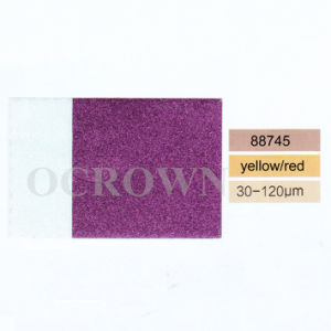 88745 желтым или красным Chameleon Colorshift Pearl пигмента