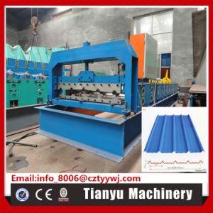 Profil de la feuille de toit en acier trapézoïdal Rolling machine de formage à froid 860