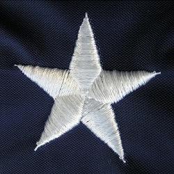 各国用米国オックスフォードポリエステル旗のアメリカの刺繍された星アメリカのフラグ(J-NF16F05005)
