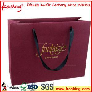 Alta qualità impaccante dei sacchetti di acquisto elemento portante di carta/di plastica
