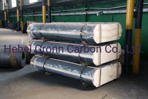 UHP RP HP avec électrodes de graphite de carbone de grade mamelons 200-700mm
