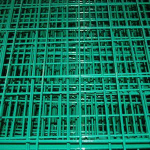 PVCが付いている溶接された金網は塀のために塗った