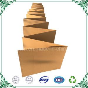 Envases de cartón corrugado papel continuo de verificación de la fábrica de cartón plegado en Z