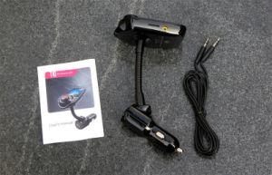 Transmisor FM coche reproductor de MP3 Bluetooth Car Kit Manos Libres MP3 inalámbrico USB inalámbrico de modulación de la pantalla LCD Cargador de coche