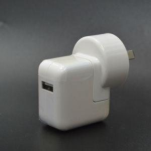 UK/US/EU/Au Plug 2.4 Amperios 12W Cargador de pared USB Adaptador de Corriente