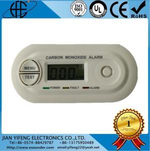 LCD表示Coの一酸化炭素中毒センサー、モニタアラーム探知器、ホームアラーム
