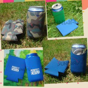 Camoのネオプレンの缶ビールのクーラー、カスタム短いホールダー、びんKoozie (BC0002)