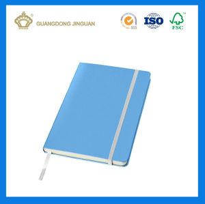 Notebook espiral de metal / Agenda Executivo Notebook (tampa de couro com botão de fecho)