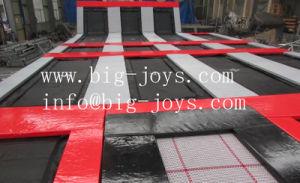 As crianças mais novas de brinquedos a piscina trampolim Park com jogo de basquetebol (014)