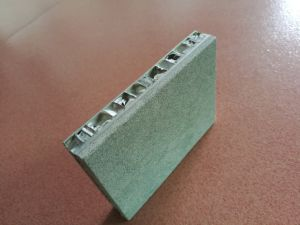 벽을%s 알루미늄 벌집 합성 위원회가 대리석 또는 화강암 또는 석회화 돌에 의하여 꼭대기에 올랐다