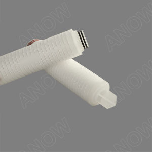 0,01 micron air/bouillie cartouche de filtre absolu de PTFE hydrophobe