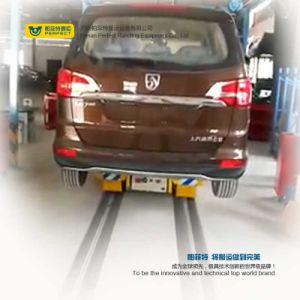 Transferência motorizado guiados automáticos de manuseamento de trem rolante